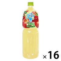 コカ・コーラ ミニッツメイド Qoo りんご 1.5L 1セット(16本:8本入×2箱)