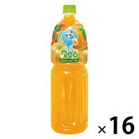 コカ・コーラ ミニッツメイド Qoo みかん 1.5L 1セット(16本:8本入×2箱)