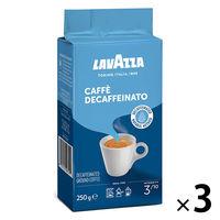 【コーヒー粉】片岡物産 ラバッツァ VP デカフェ(カフェインレス) 1セット(250g×3袋)