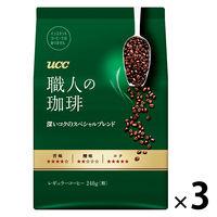 【コーヒー粉】UCC上島珈琲 職人の珈琲 深いコクのスペシャルブレンド 1セット(300g×3袋)