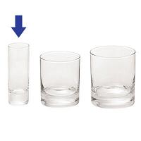 イスランド ショットグラス 65ml JD01050 1箱(72個:12個入×6箱) アルコロック