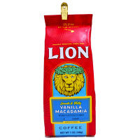 【コーヒー粉】ライオンコーヒー バニラマカダミア 1袋(198g)