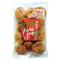 成城石井 厚焼きねぎ味噌せんべい 国産ねぎ使用 130g