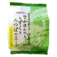成城石井 沖縄県恩納村産もずくとみつばのスープ 化学調味料無添加 5食入