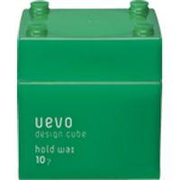 UEVO(ウェーボ)整髪料 デザインキューブ ホールドワックス 80g デミ サロン専売品