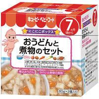 キユーピーベビーフード おうどんと煮物のセット 7ヵ月頃から 60g×2個入り 1箱