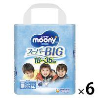 ムーニーマン パンツ スーパービッグサイズ(18~35kg) 1箱(6パック(84枚入)) エアフィット 男の子用 ユニ・チャーム