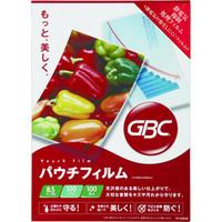 アコ・ブランズ・ジャパン GBCパウチフィルム B5サイズ YP100B5R 1箱(100枚入)