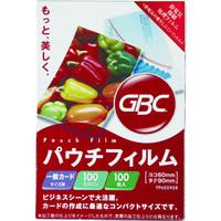 アコ・ブランズ・ジャパン GBCパウチフィルム 一般カードサイズ YP60090R 1箱(100枚入)