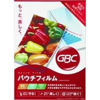 アコ・ブランズ・ジャパン GBCパウチフィルム B4サイズ YP100B4R 1箱(100枚入)