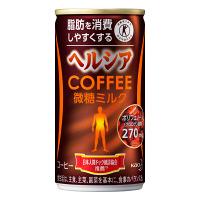 缶コーヒー 特定保健用食品(トクホ) ヘルシアコーヒー 微糖ミルク 185g 1箱(30缶入) 花王
