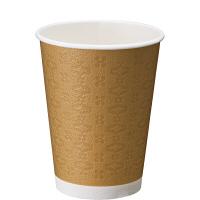 日本デキシー 断熱カップ レリーフカップ 275ml(9オンス) 1セット(300個:50個入×6袋)