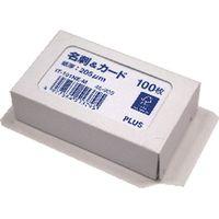 プラス 名刺ジャストサイズ 標準FSC用紙 46908 IT-101NE-M 1箱(100枚入)