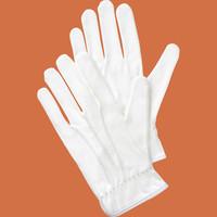 勝星産業 「現場のチカラ」 スムス手袋 3本飾り 白 Mサイズ 1袋(5双入)