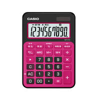 カシオ計算機 カラフル電卓 ベリーピンク MW-C12A-BR-N 1個