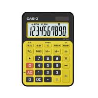 カシオ計算機 カラフル電卓 スパイスイエロー MW-C12A-BY-N 1個