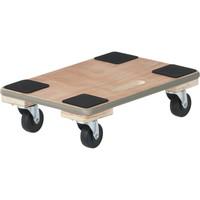 「現場のチカラ」 木製 平台車エッジ巻310×460 1台 アスクル