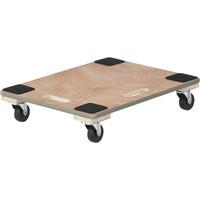 「現場のチカラ」 木製 平台車エッジ巻610×460 1台 アスクル