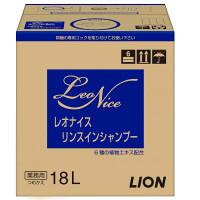 レオナイス リンスインシャンプー フルーティフローラルの香りバッグインボックス詰替18L(注ぎ口コック付) 1個 ライオン