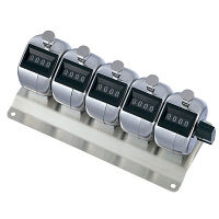 プラス 数取器 KTー500 5連用  KT-500 1個  (直送品)