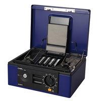 カール事務器 キャッシュボックス ブルー B5 CB-8660-B 1台