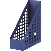 セキセイ PPボックスファイル A4タテ ネイビー SSS-1675-15 1箱(10個入)