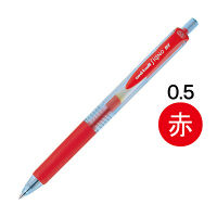 三菱鉛筆(uni) ゲルインクボールペンユニボール シグノRT(ノック式エコライター) 0.5mm 赤インク