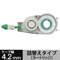 トンボ鉛筆【MONO】修正テープカートリッジ モノCX用 4.2mm幅×12m CT-CR4 10個