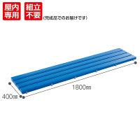 テラモト 抗菌安全スノコ ブルー 幅1810mm MR-093-315-3 1台