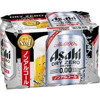アサヒ ドライゼロ 350ml 1パック(6缶入)