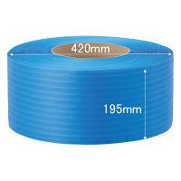 司化成工業 「現場のチカラ」 PPバンド 梱包機用 幅15.5mm×2500m巻 青 TYBB 1巻