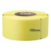 司化成工業 「現場のチカラ」 PPバンド 梱包機用 幅15.5mm×2500m巻 黄 TYBY 1巻