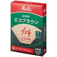 メリタジャパン エコフィルターペーパー 1×4サイズ 1箱(100枚入)