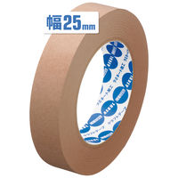 「現場のチカラ」アスクル クラフトテープ スーパーエコノミー 茶 25mm×50m巻 1セット(30巻:10巻×3パック)