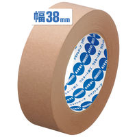 「現場のチカラ」アスクル クラフトテープ スーパーエコノミー 茶 38mm×50m巻 1セット(30巻:6巻×5パック)