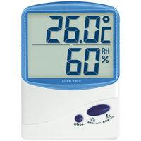 ドリテック デジタル温湿度計 ブルー 1セット(3個)
