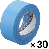 寺岡製作所 養生テープ P-カットテープ No.4140 塗装養生用 青 幅50mm×長さ50m巻 1箱(30巻入)