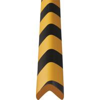 カーボーイ 安心クッションL字型90cm小 トラ柄(黒/黄) AC-1002S 1セット(20本:2本入×10パック)