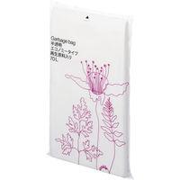 オリジナルゴミ袋 エコノミータイプ 再生原料40%HD 70L 半透明 1箱(400枚:20枚入×20パック) アスクル