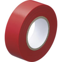 ビニールテープ赤 幅19mm×長さ10m