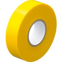 アスクル「現場のチカラ」 ビニールテープ 黄 19mm×20m巻 1セット(30巻:10巻入×3箱)