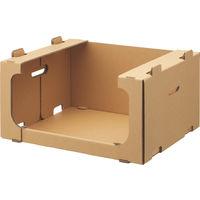 レンゴー 「現場のチカラ」 スタッキング収納箱大 1梱包(5個入)