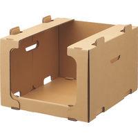 レンゴー 「現場のチカラ」 スタッキング収納箱小 1セット(30個:5個入×6梱包)