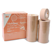 スリーエム ジャパン マルチポアTMスポーツライト伸縮固定テープ 25mm×5m 2723-25 1箱(12巻入)