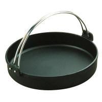 中部コーポレーション トキワ 鉄すきやき鍋 黒ツル付 26cm IH対応 QSK35026 (取寄品)