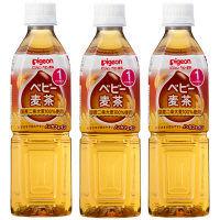 ピジョン ベビー麦茶 500ml 1セット(3本)