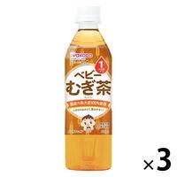 WAKODO ベビーのじかん むぎ茶 500ml 1セット(3本)