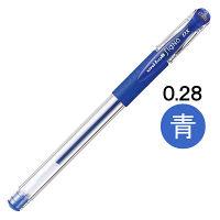 三菱鉛筆(uni) シグノ 超極細 0.28mm 青インク UM15128.33