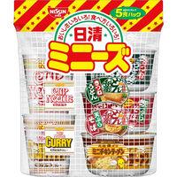 日清 ミニーズ 5食