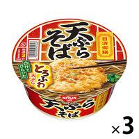 日清御膳 天ぷらそば 3食